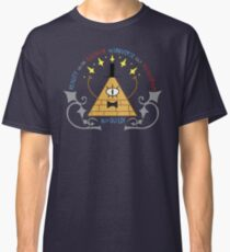 Bill Cipher -- Art Nouveau Classic T-Shirt