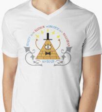 Bill Cipher -- Art Nouveau Men's V-Neck T-Shirt