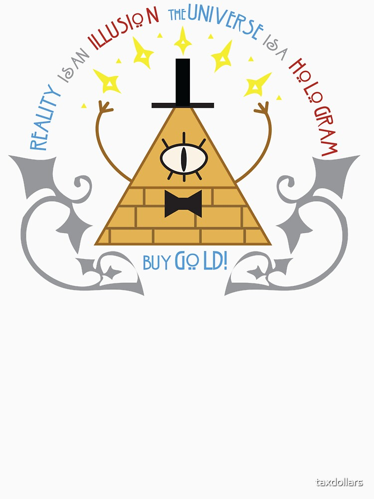 TShirtGifter presents: Bill Cipher -- Art Nouveau | Unisex T-Shirt