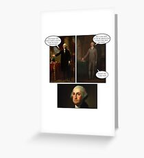 Hamilton x The West Wing - Secret Plan Greeting Card