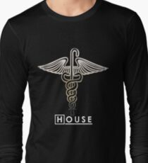 House M.D. - Snakes on a Cane Long Sleeve T-Shirt