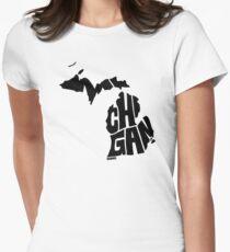 Michigan Women's Fitted T-Shirt
