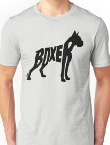 Boxer Black Unisex T-Shirt
