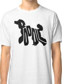 Poodle Black Classic T-Shirt