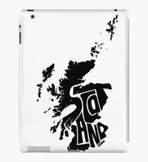 Scotland Black iPad Case/Skin