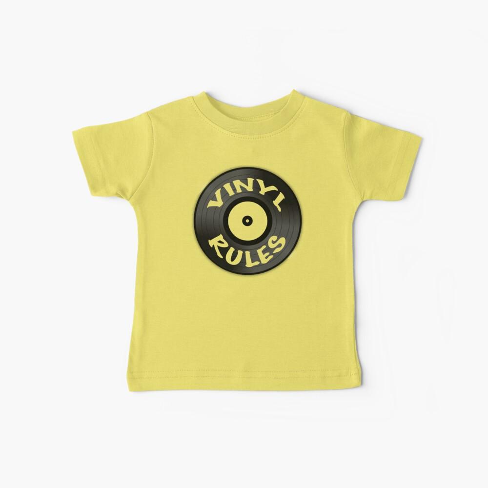 Vinyl Rules Baby T-Shirt