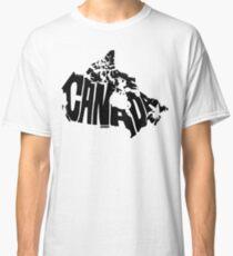 Canada Black Classic T-Shirt