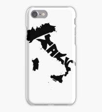 Italy Black iPhone Case/Skin