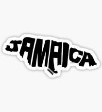 Jamaica Black Sticker