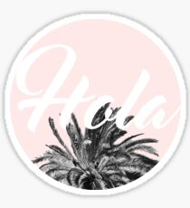 Hola! #redbubble #lifestyle Sticker