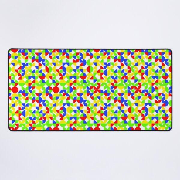 Unisex Colorful Random Pattern Desk Mat