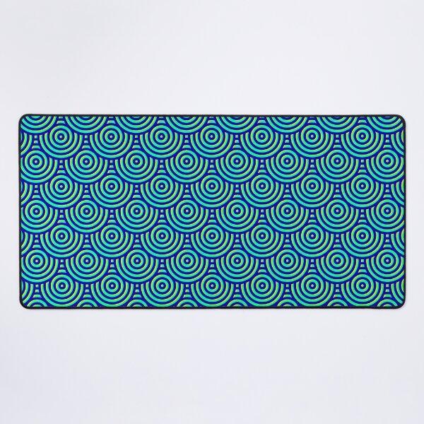 Seamless coil pattern Desk Mat