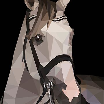 Polygon horse by stinaq