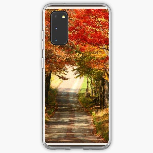 Autumn Path to Winter Samsung Galaxy Soft Case