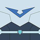 Paladin Uniform Blue (With Belt) by missarrowette