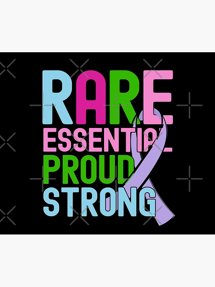 Rare Disease Day Essential Proud Strong People Awareness by CWartDesign