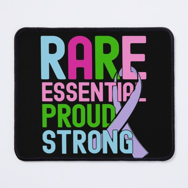 Rare Disease Day Essential Proud Strong People Awareness Mouse Pad