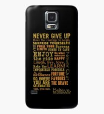 Inspirational Thoughts Collection T-shirts & Homewares Case/Skin for Samsung Galaxy