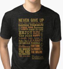 Inspirational Thoughts Collection T-shirts & Homewares Tri-blend T-Shirt
