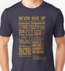 Inspirational Thoughts Collection T-shirts & Homewares Unisex T-Shirt