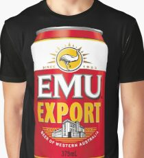Emew Export Graphic T-Shirt