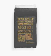 Inspirational Thoughts Collection T-shirts & Homewares Duvet Cover