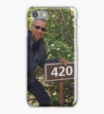 Obama 420 iPhone Case/Skin