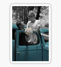 Country Wedding Sticker