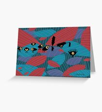 Eye and lashes Greeting Card