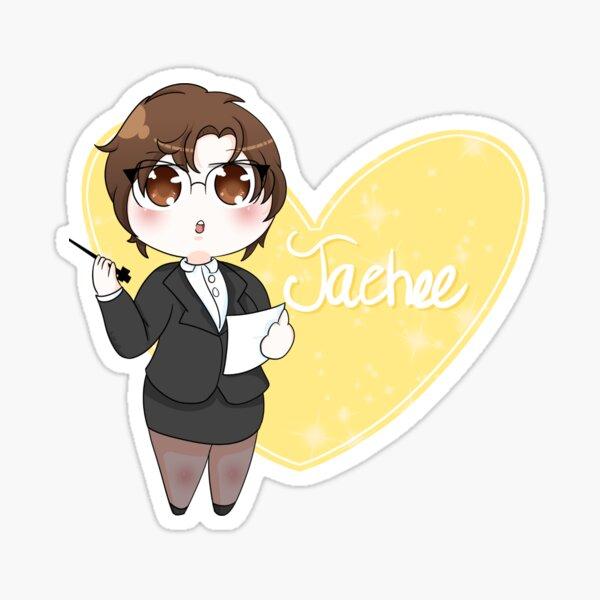 Mystic Messenger Chibi Jaehee Sticker