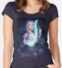 Moon Witch Fitted Scoop T-Shirt