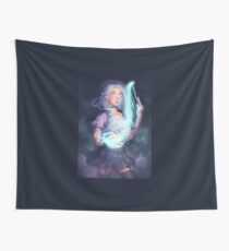 Moon Witch Wall Tapestry