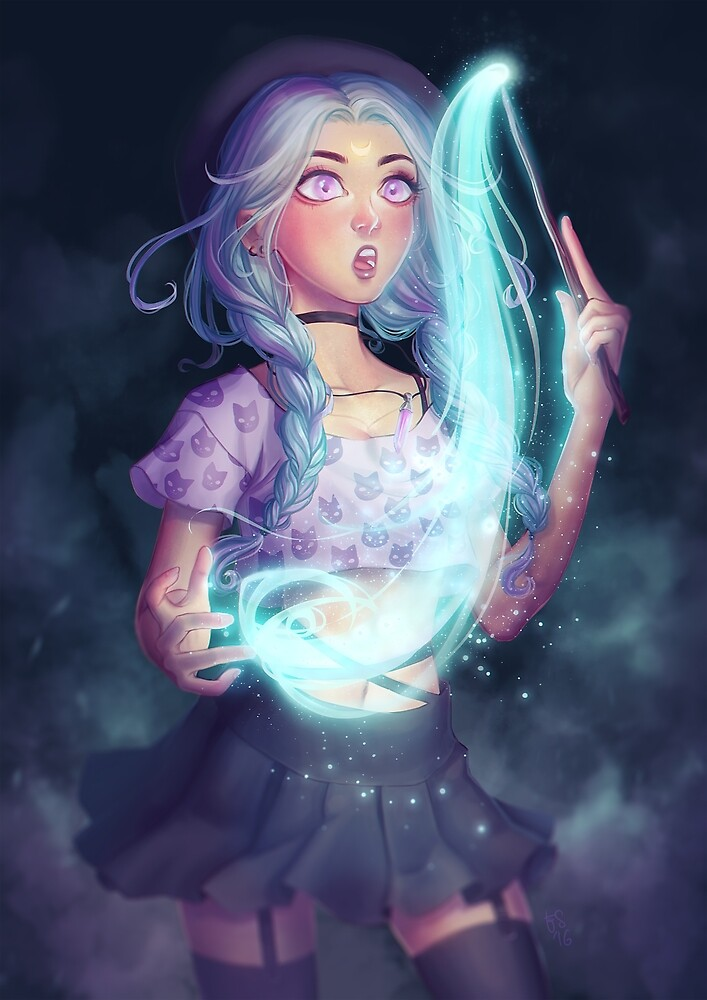 Moon Witch by Elisa Serio