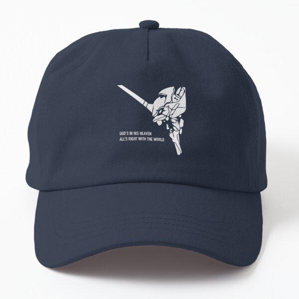 Evangelion Eva 01 - God's in Heaven Dad Hat
