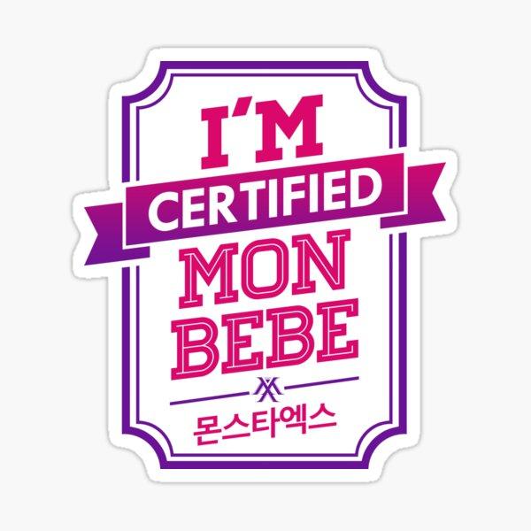 Certified MONBEBE - MONSTA X Sticker