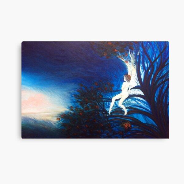 The Spirit of Blue Canvas Print
