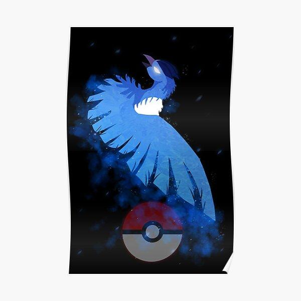 Articuno Legendary bird Poster
