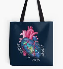 Stars In Your Heart Tote Bag
