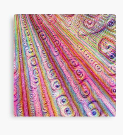 Seashells #DeepDream Canvas Print