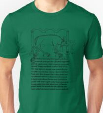 Medieval Bestiary monster T-Shirt