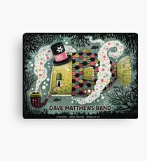 DMB Greek Theatre Berkeley CA, Logo Canvas Print