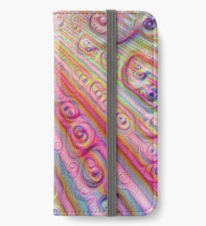 Seashells #DeepDream iPhone Wallet