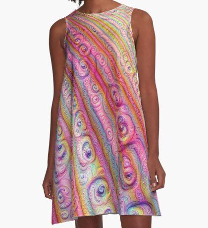 Seashells #DeepDream A-Line Dress