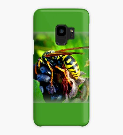 Wasp on Blackberry Case/Skin for Samsung Galaxy