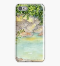 Sweet Camping Memories- Beckler River, WA iPhone Case/Skin