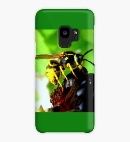 Blackberry with wasp Case/Skin for Samsung Galaxy