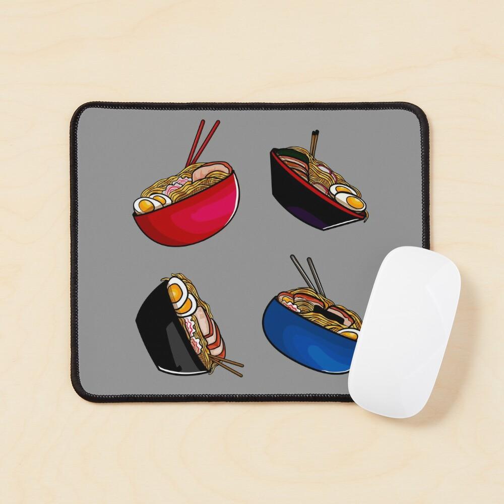 Ramen noodle soup pack. Ramen noodles pattern lover, gift idea Mouse Pad