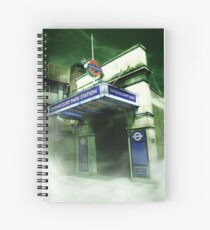 Haunted London - Ravenscourt Park Spiral Notebook