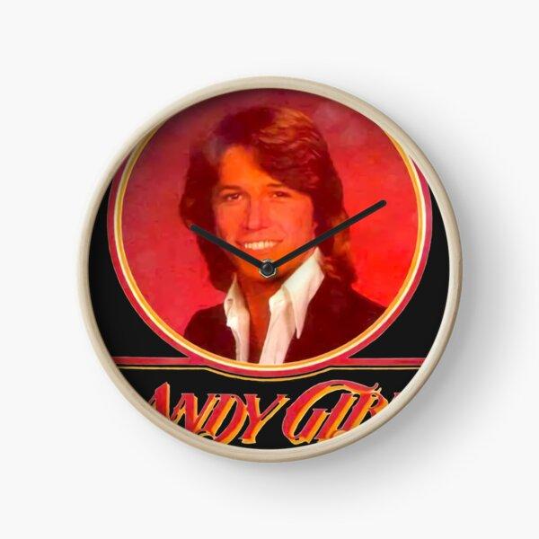 Andy Gibb Classic Retro Photo Figure Clock