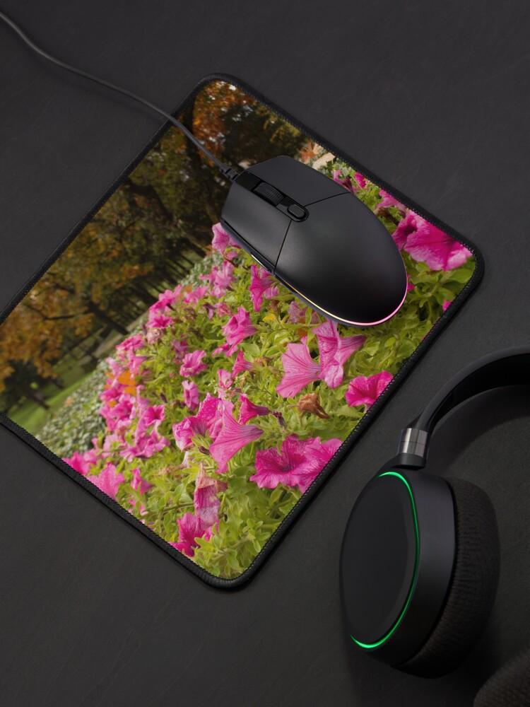Alternate view of Petunia flower hot pink original photo Mouse Pad